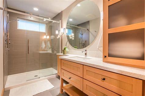 japanese inspired bathroom remodel modern oregon bath