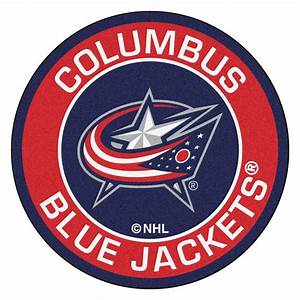 FANMATS NHL Columbus Blue Jackets Red 2 ft 3 in x 2 ft