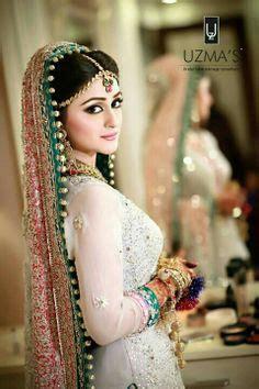 pakistani bridal photo shoot poses oriental women style