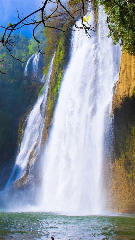 Beautiful Waterfall wallpaper by DLJunkie - 5a - Free on ...