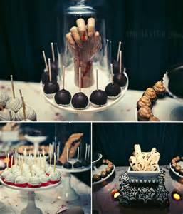 spooky dessert table ideas halloween pinterest