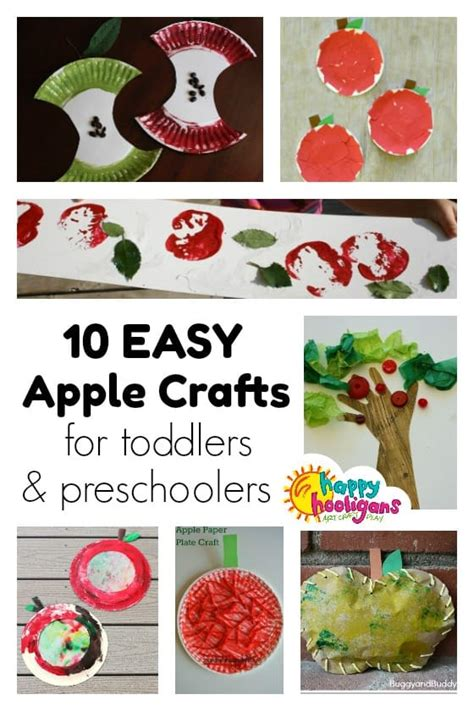 10 preschool apple crafts for ages 2 5 happy hooligans 600 | Easy Preschool Apple Crafts Happy Hooligans