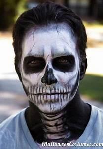 skeleton makeup for Halloween - Halloween Costumes 2013 ...