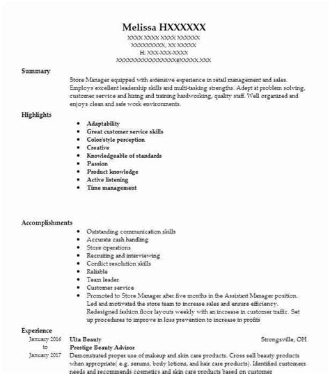 18 cosmetology resume objectives