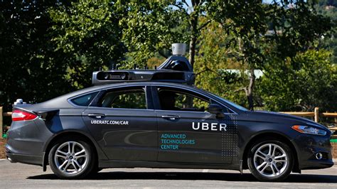uber rushing  put  driving cars   road