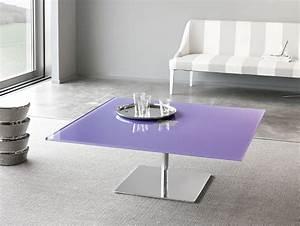 nella vetrina tonelli farniente modular italian square With coloured glass coffee table