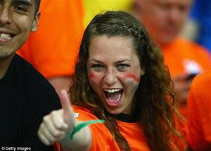 Dutch fans' delight as Holland thrash world champions ...