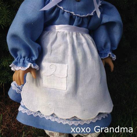 apron pattern   doll allfreesewingcom