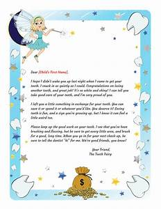 tooth fairy letter lost tooth printable With tooth fairy letters for lost teeth