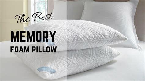 best memory foam pillow best affordable memory foam pillow picks for 2018