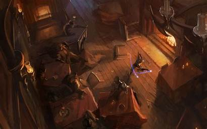Fire Sorcerer Fight Wallpapers Fantasy Background Souls
