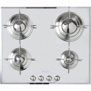 Plaque De Cuisson Gaz Smeg : smeg ptv64es plaque gaz boulanger ~ Melissatoandfro.com Idées de Décoration