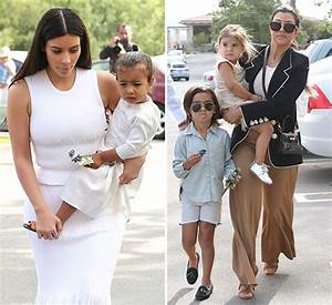 [PIC] North West, Penelope & Mason Disick Easter Church ...