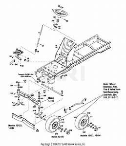 Troy Bilt 13123 14hp Hydrostatic Ltx Tractor  S  N 131231300101