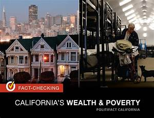 Checking the facts on California's wealth and poverty ...