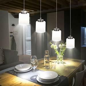 Pendelleuchten Led Esszimmer : led pendelleuchte h ngelampe esszimmer lampe leuchte licht ~ Watch28wear.com Haus und Dekorationen
