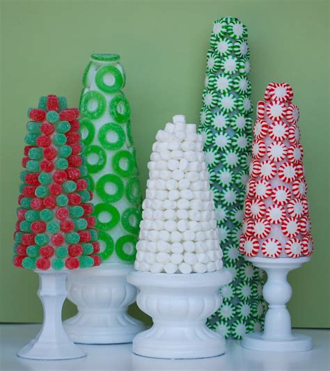 The Sweetest Christmas Craft Candy Trees