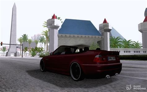 Mod Bmw S Gamemodding by Bmw M3 E46 Cabrio For Gta San Andreas