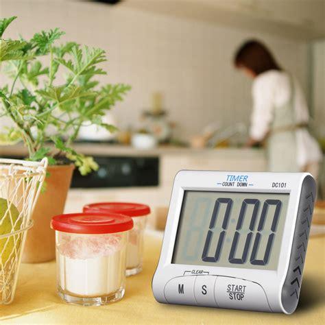 timer masak dapur lcd digital count dc101 white jakartanotebook