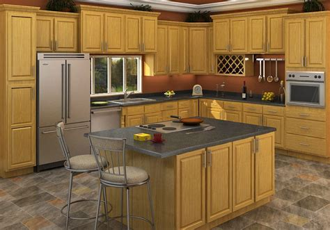 oak cabinets kitchen ideas buy carolina oak rta ready to assemble kitchen cabinets