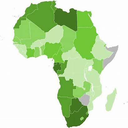 Africa Map Gdp Svg Capita Per 2007