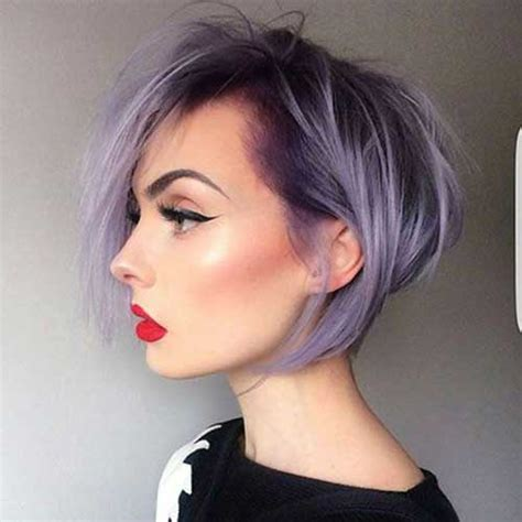 charming short hair color ideas