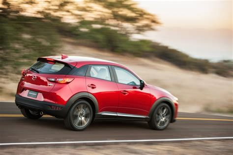 how are mazda cars rated 2016 mazda cx 3 gas mileage subcompact suv rated at 31
