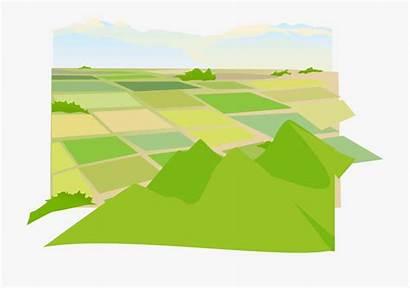 Land Clipart Icon Farm Arable Transparent Cliparts