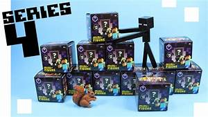 Minecraft Mini Figure Obsidian Series 4 Collection Review