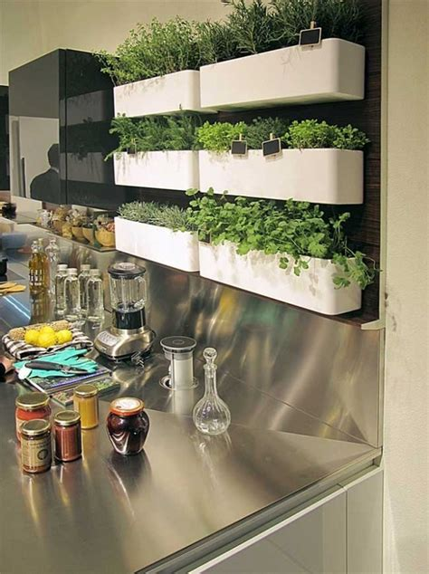 Vertical Herb Garden In Your Kitchen by Vertical Kitchen Garden Http Lomets