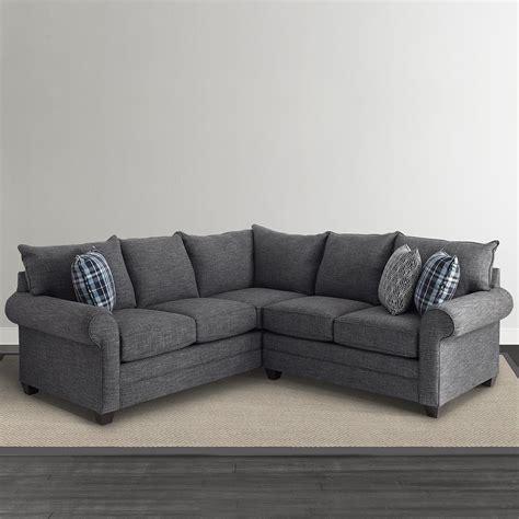 l shaped sectional sofa alex l shaped sectional sofa living room bassett furniture