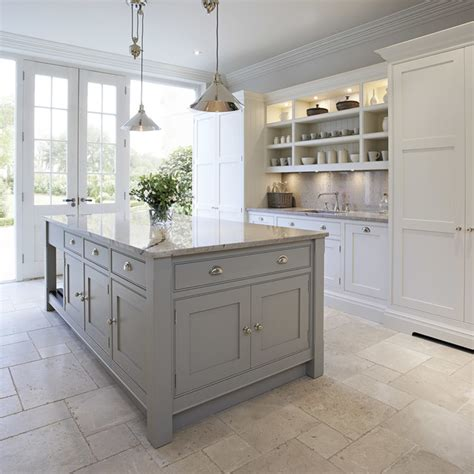 Contemporary Shaker Kitchen  Transitional Kitchen