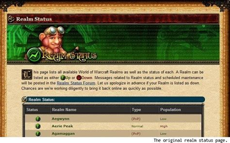 wow archivist  rolled  history  realms