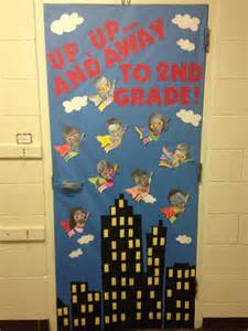 Superhero Classroom Door Decorations