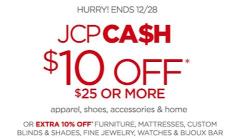 JCPenney: $10 Off $25 Printable Coupon - Money Saving Mom ...
