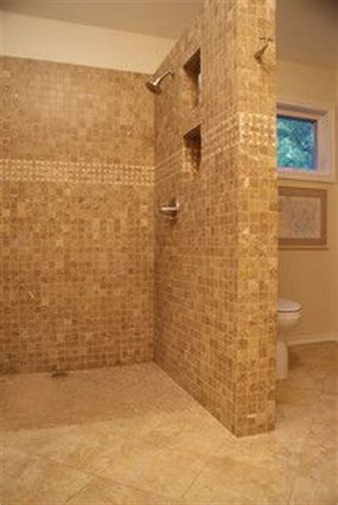 shower no door or curtain home remodel