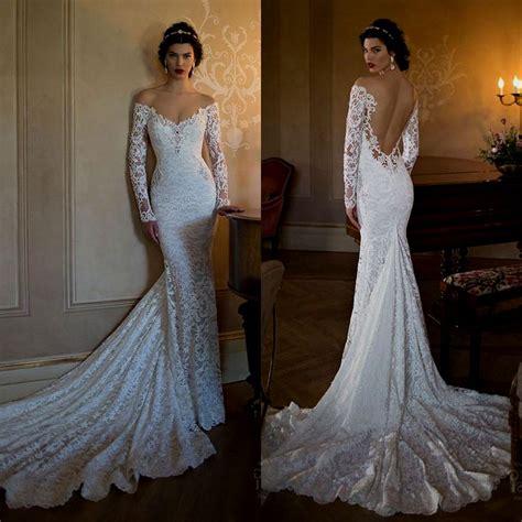 Lace Backless Wedding Dresses 2015 Naf Dresses