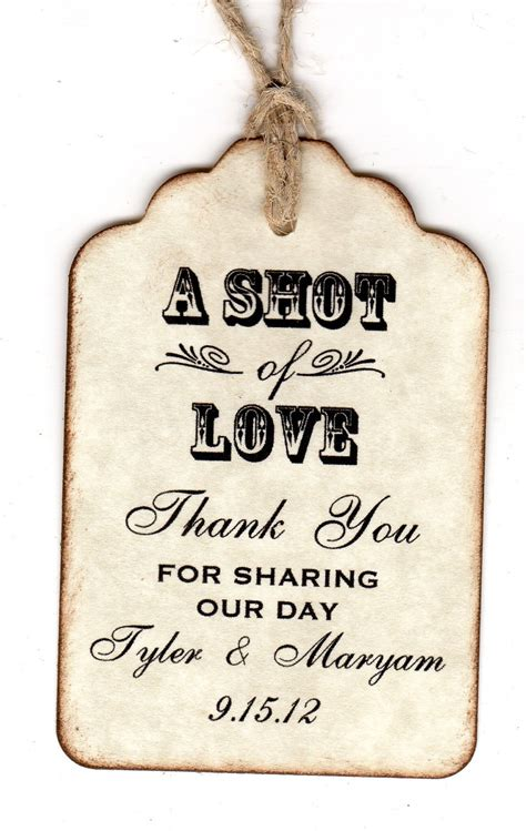 50 Personalized Shot Of Love Wedding Favor Tags Place Card. Resume For A Mechanic Template. Website Design Proposal Sample Template. Checkbook Register For Excel. Receipt Paper. Paying Off Credit Card Debt Calculator Template. Resume Template On Microsoft Word 2007. Proper Format For A Business Letter Template. Sample Of Resume Letter For Job Application Template