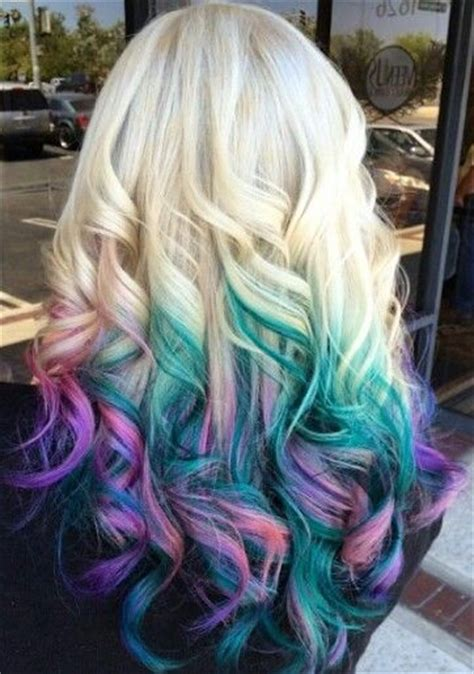 17 Best Ideas About Multicolored Hair On Pinterest