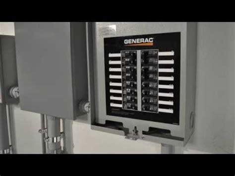 generac s new circuit weatherproof automatic transfer switch youtube