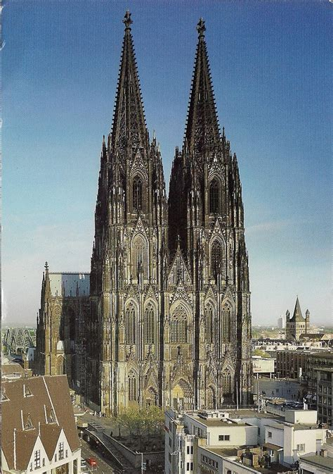 My Unesco Whs Postcards Collection Germany Cologne
