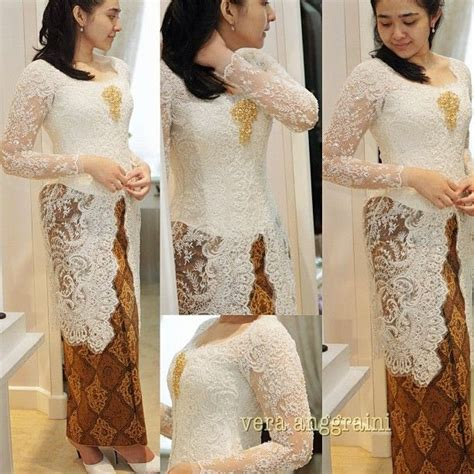 kebaya modern  vera international kebaya batik modern