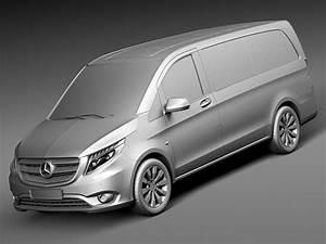 Mercedes Benz Vito : mercedes benz vito tourer 2016 3d model max obj 3ds fbx c4d lwo lw lws ~ Medecine-chirurgie-esthetiques.com Avis de Voitures