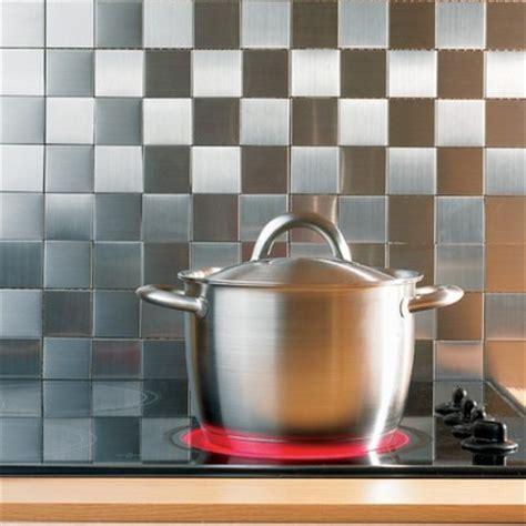 aufeminin com cuisine mosaïque inox carreaux métal décoration cuisine coach