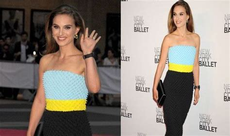 Natalie Portman Is Stunning In Colour-blocked Gown At New York Gala