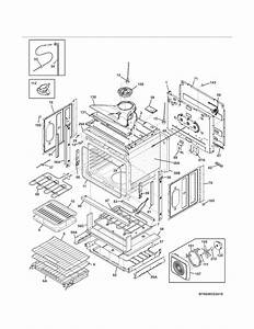 Kenmore Elite 79048352410 Electric Wall Oven Parts