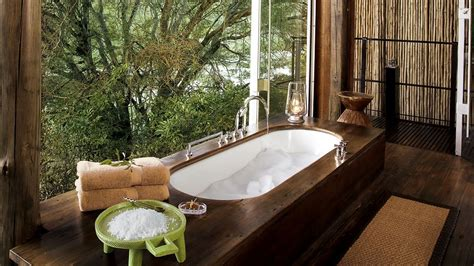Forest Lodge With Tub by Singita Sweni Lodge City Country
