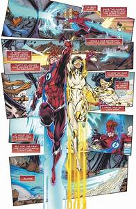 What Is The Speed Of Light Through A Vacuum Dc Comics Universe Flash Forward 4 Spoilers Review