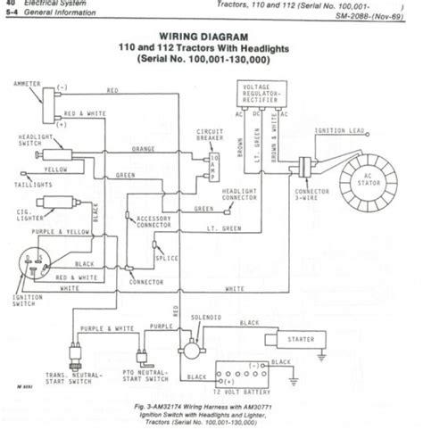 Need Wiring Diagram John Deere Tractor Forum Gttalk
