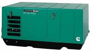 Cummins Onan Qg 4 0 Gasoline Rv Generator
